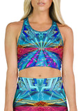 Red Rocks Racerback Crop