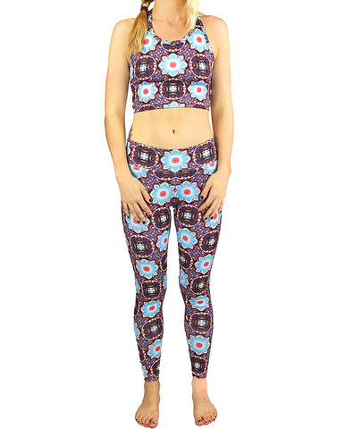Alan Watts Pattern Active Leggings