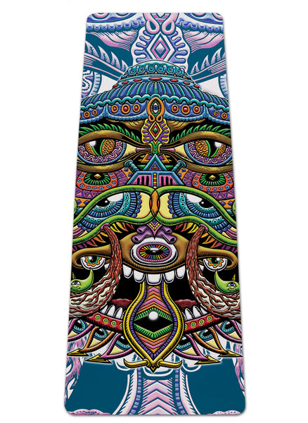 Alien Eye Yoga Mat