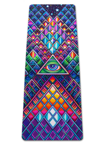 All Seeing Yoga Mat