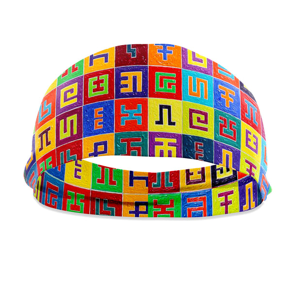 Complementary Planned Randomness Headband