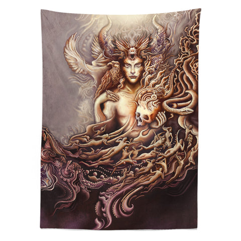 Blessing Of Man Tapestry