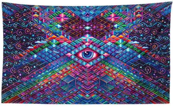 Calibration Station Tapestry