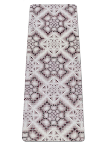 INK WASH GREY YOGA MAT