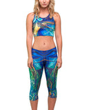 Myth of Freedom ACTIVE CROP LEGGINGS