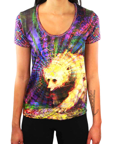 Spirit Bear SCOOP NECK T-SHIRT