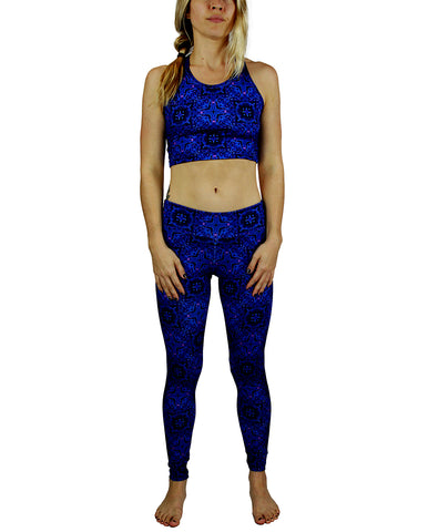 Terra Pattern Active Leggings