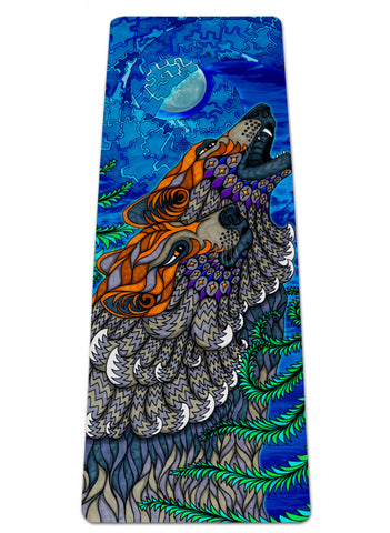 Wolf Song Yoga Mat