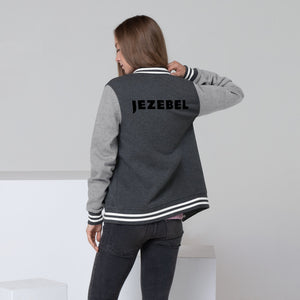 Classic Jezebel Letterman Jacket