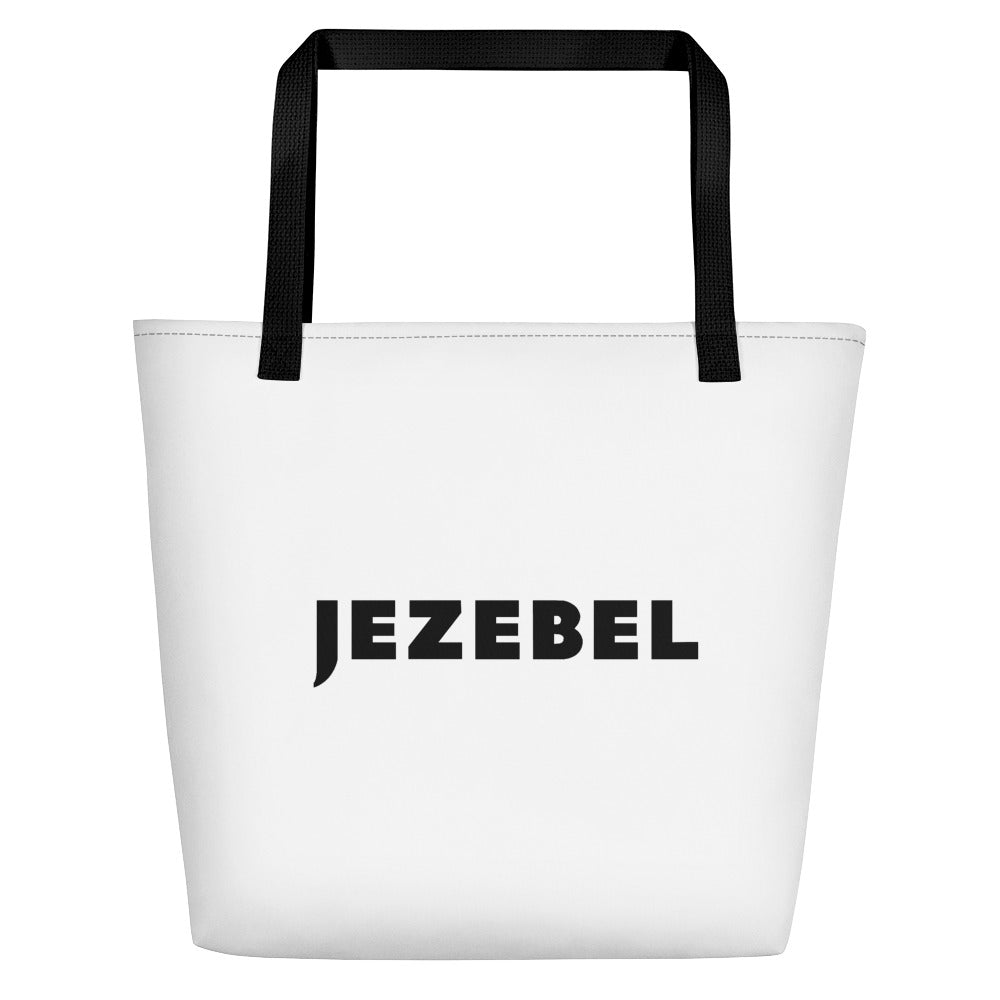 Jezebel Logo Beach Bag