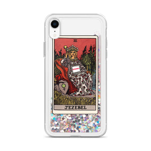 Tarot Liquid Glitter Phone Case