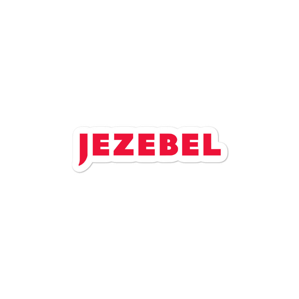 Jezebel Logo stickers