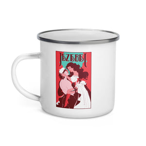 Romance Novel Enamel Mug