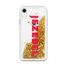 Load image into Gallery viewer, Jezebel Logo Liquid Glitter Phone Case