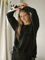 RAFAELLA - LOVE | Black - wordscount