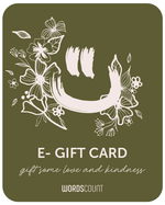 WordsCount E-Gift Card $150 - wordscount