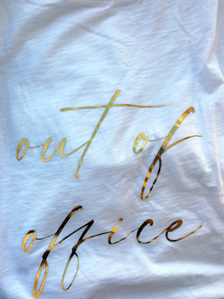 GABY - OUT OF OFFICE | White - wordscount