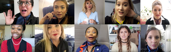 Top 10 Flight Attendants to Follow on YouTube