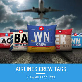 airlines crew tags