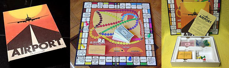 Airport board game
