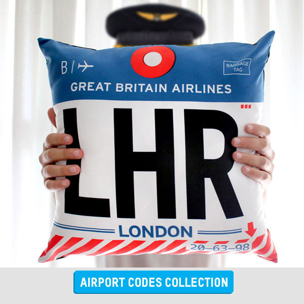 Airport Code Gifts for Pilots