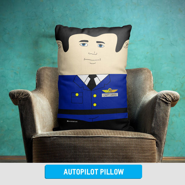 Personalized Autopilot Throw Pillow