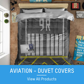 aviation duvet covers