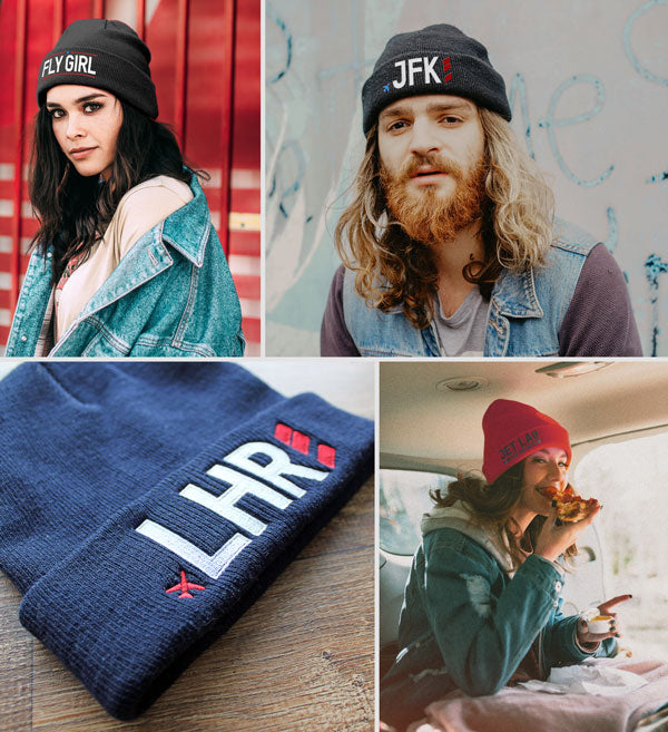 Aviation and Travel Beanie Collection