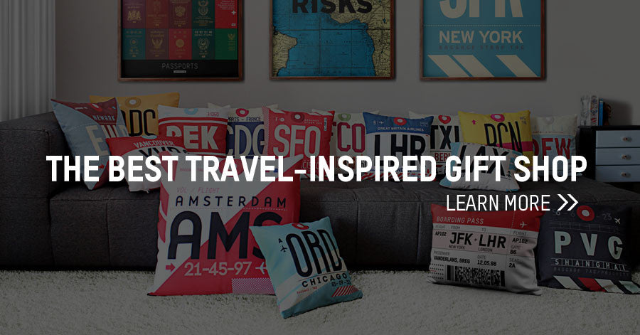 the best travel inspired gift shop