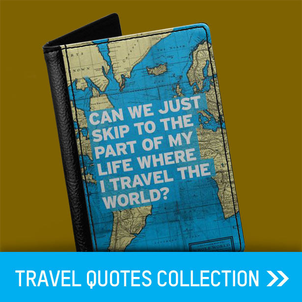 travel quotes passport covers
