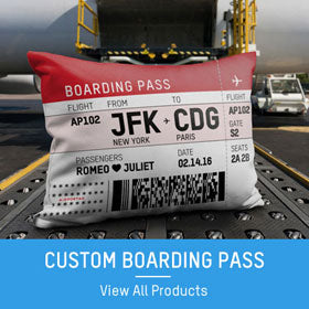 custom boarding pass