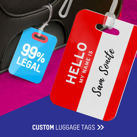 2286da8fc115 Shop Here The Most Creative Luggage Tag Collections