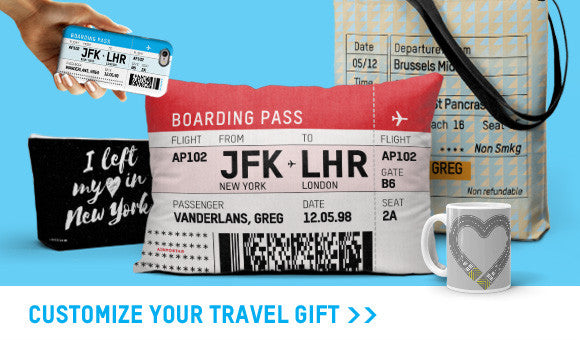 Personalize your own travel gift