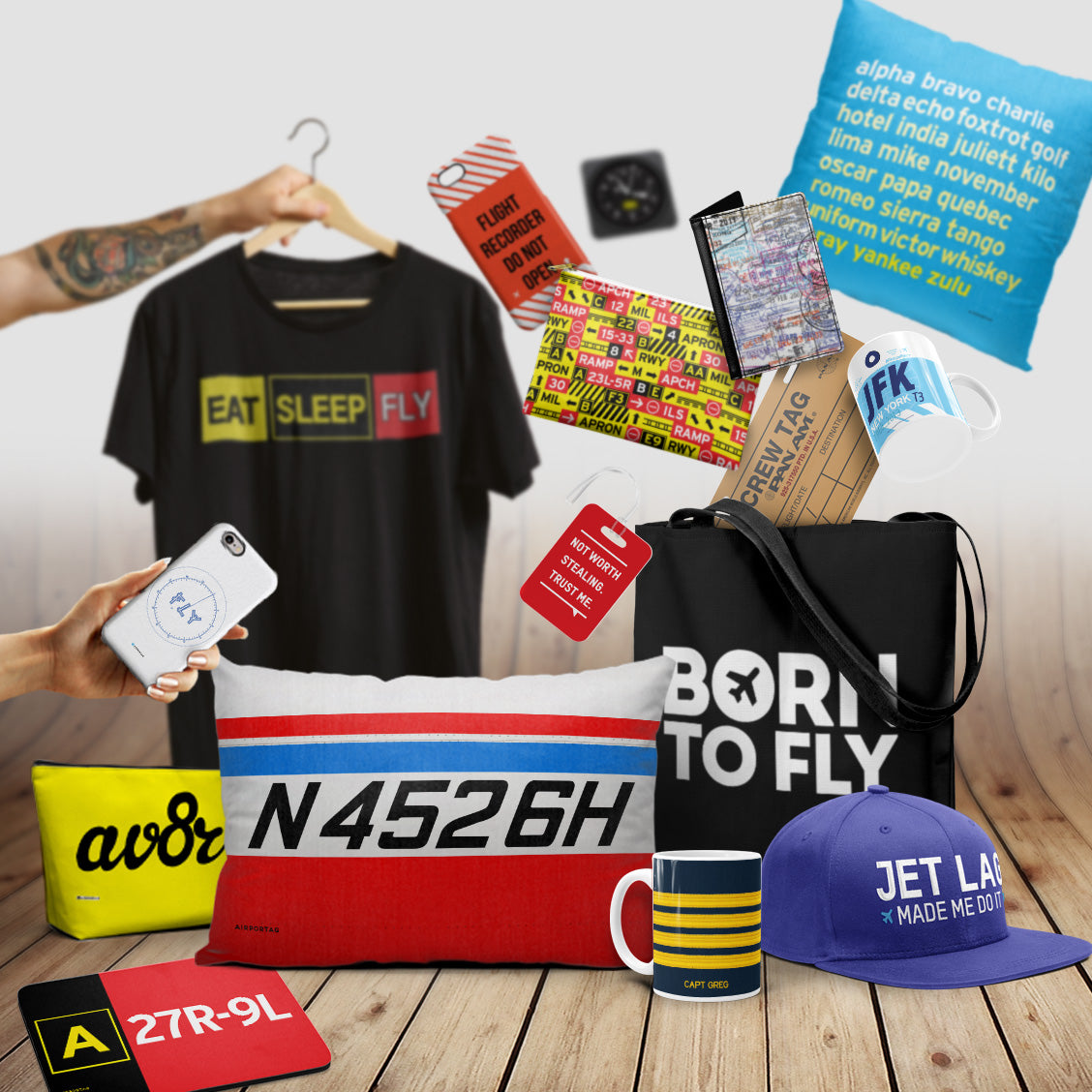 Gifts for Pilots - Airportag