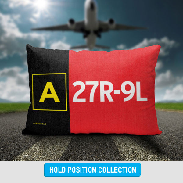 Personalized Taxiway Sign - Hold Position - Gifts for Pilots