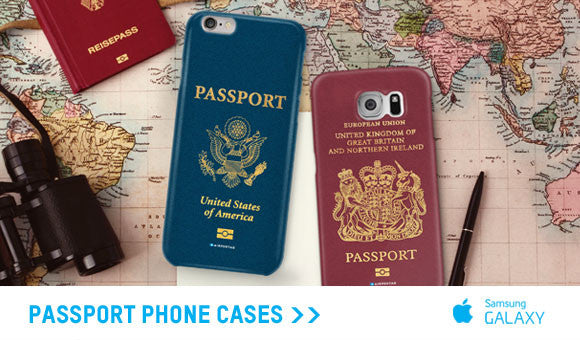 Passport phone case