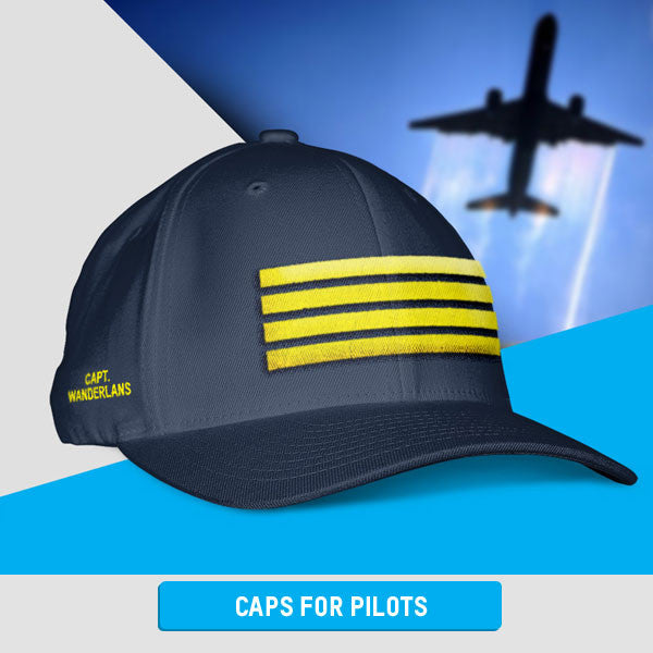 Custom Caps Collection for Pilots