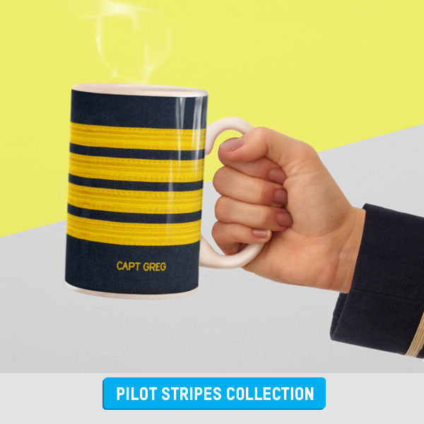 Pilot Stripes Personalized Gifts