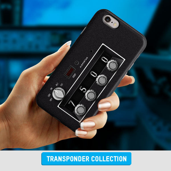 Transponders Squawk Codes Phone Cases for Pilots