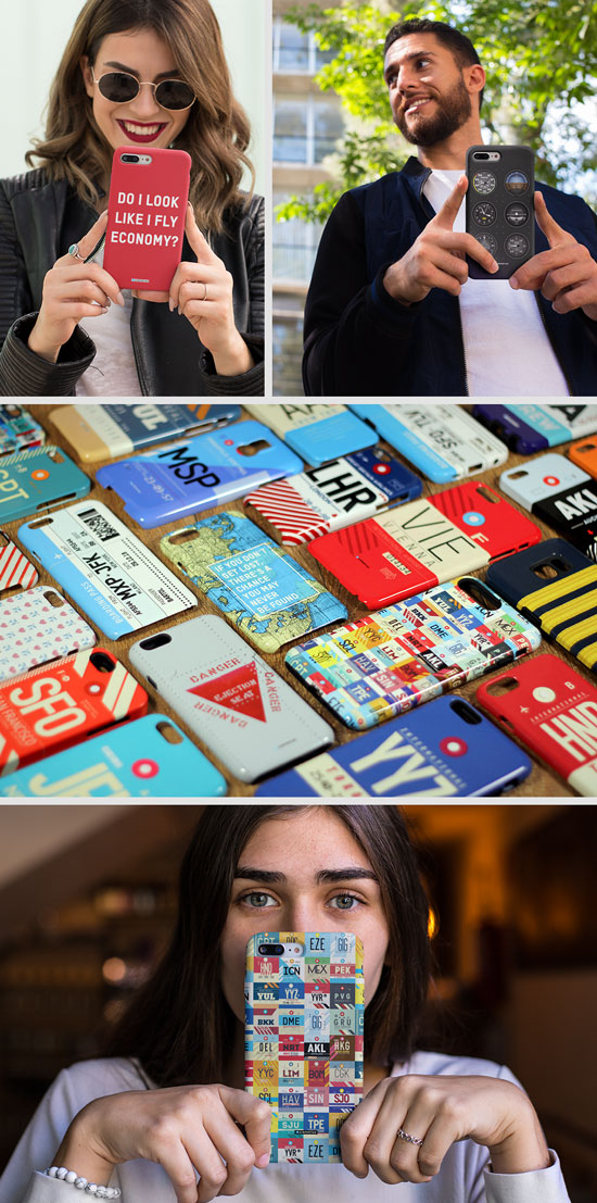 Aviation and Travel Themed Phone Cases