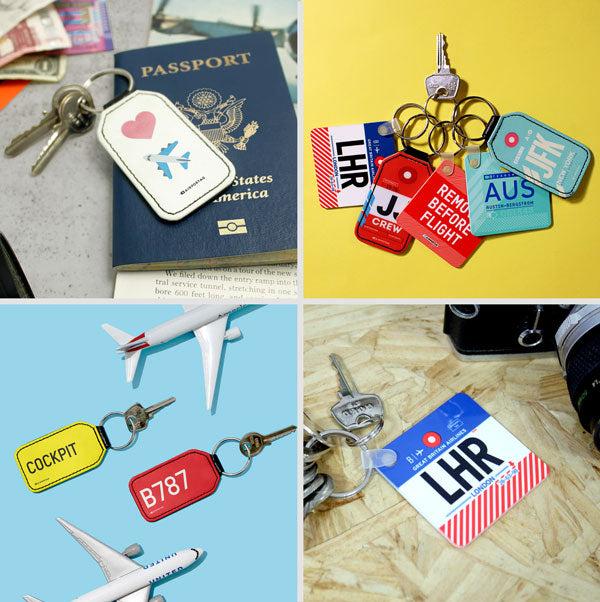 Travel and Aviation Keychains