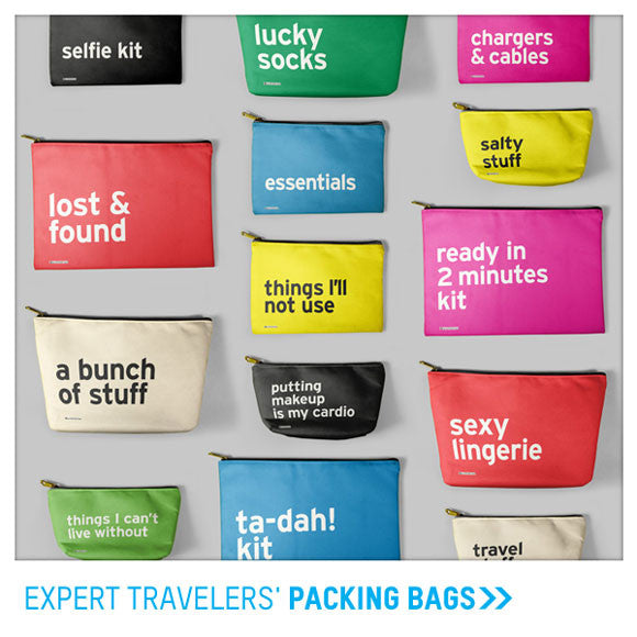 Funny Packing bags