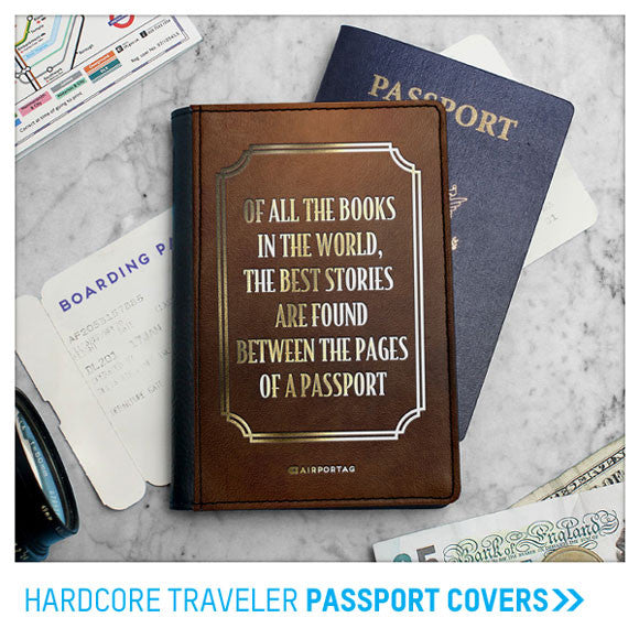 Wanderlust Passport Covers