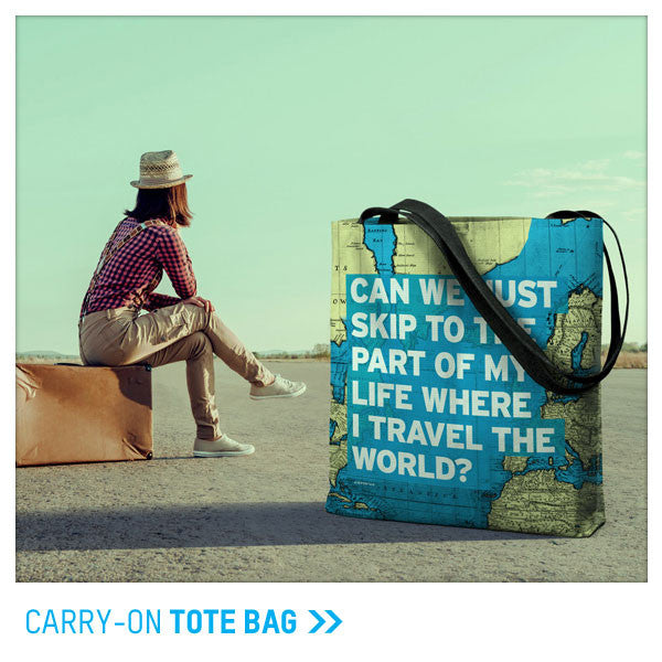 Carry-on tote bags