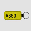 A380 - Tag Keychain - Airportag