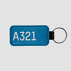 A321 - Tag Keychain - Airportag