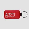 A320 - Tag Keychain - Airportag