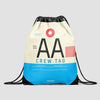 AA - Drawstring Bag - Airportag