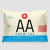 AA - Pillow Sham - Airportag