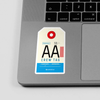 AA - Sticker - Airportag